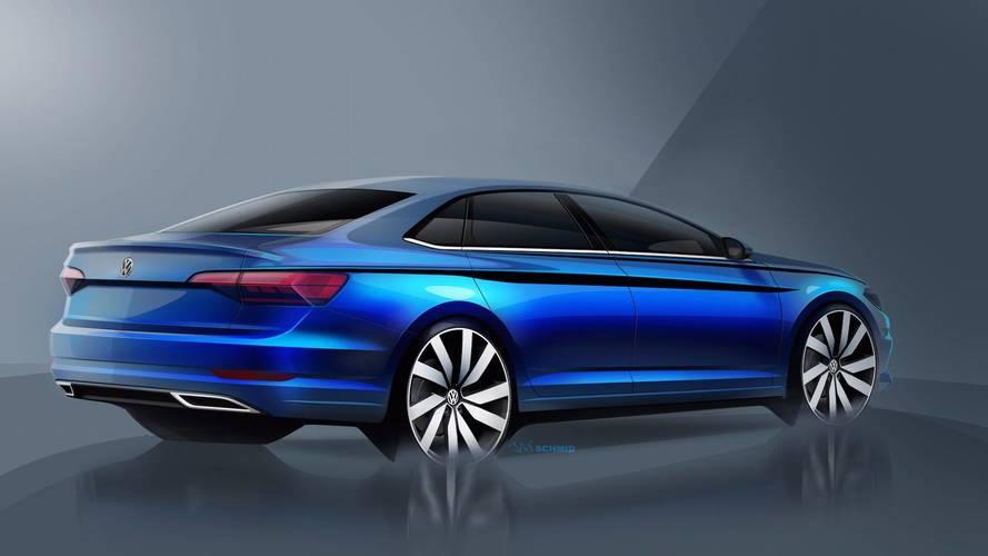 2018 Volkswagen Jetta skeçleri