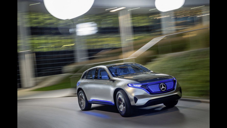 Mercedes EQC, in Norvegia si ordina già il SUV elettrico