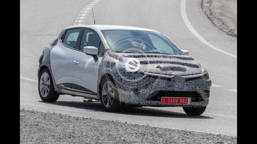 Renault Clio, un restyling al sapore di Megane