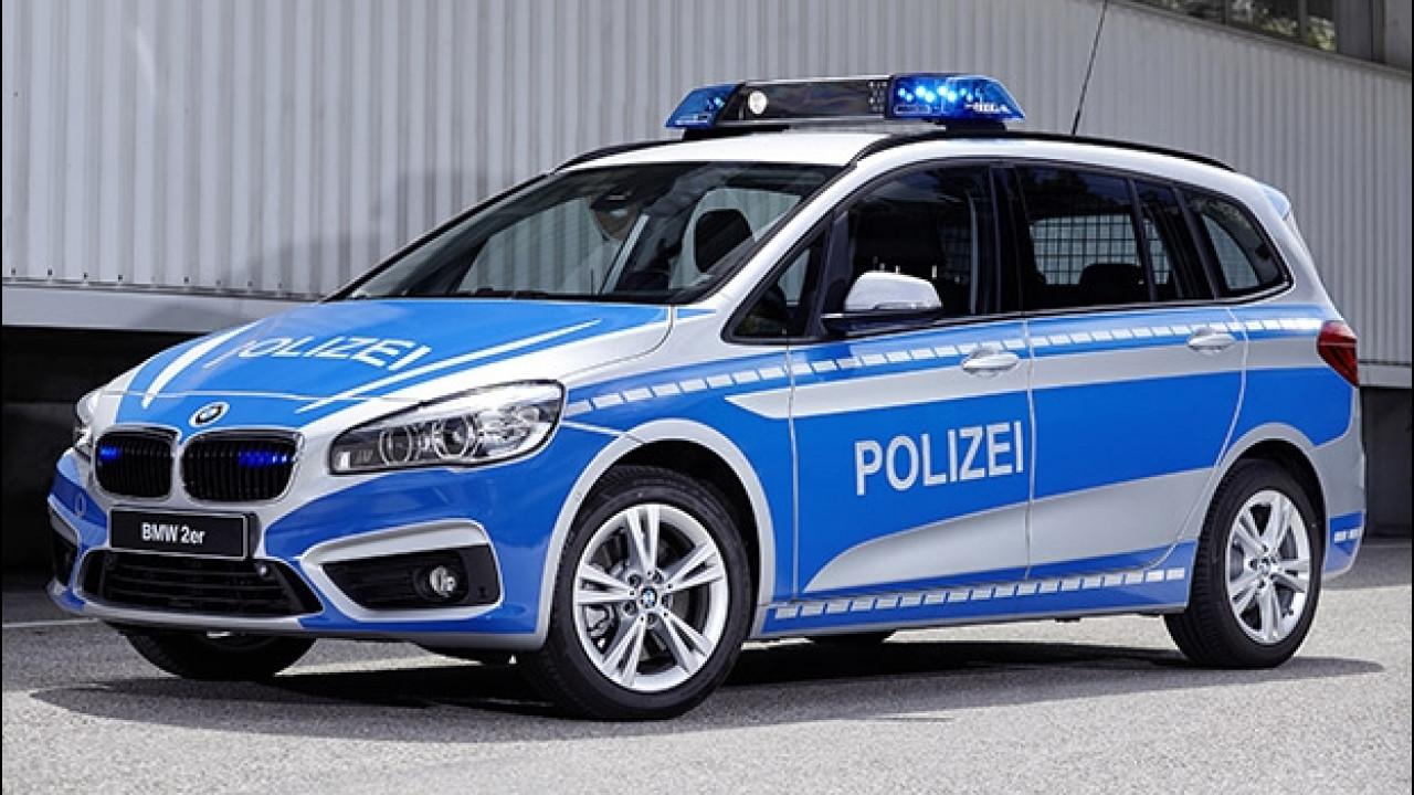 [Copertina] - BMW in divisa, la polizia (tedesca) ringrazia