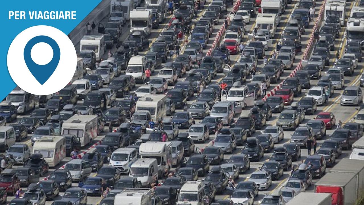 [Copertina] - Previsioni traffico, come evitare le code da esodo estivo