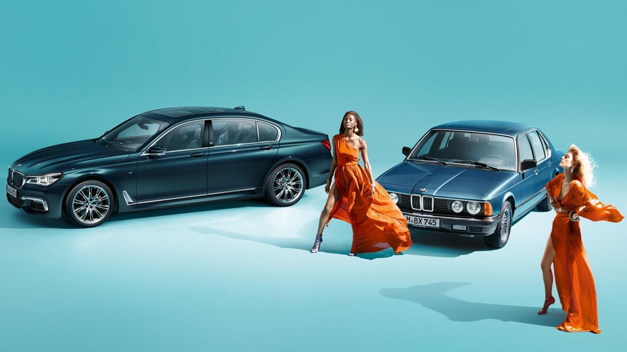 [Copertina] - BMW Serie 7 Edition 40 Jahre, quarant'anni di lusso e tecnologia