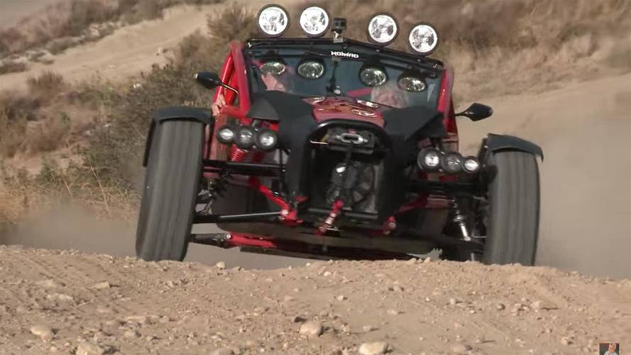 Jay Leno Straps Into Ariel Nomad For Off-Road Blast
