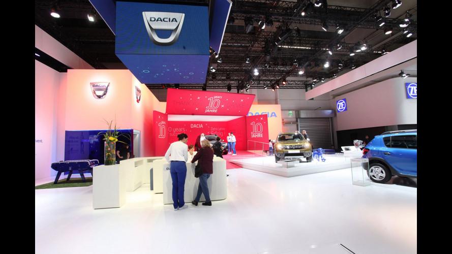 Dacia al Salone di Francoforte 2015