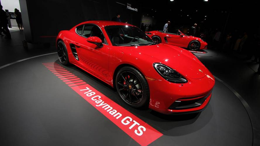 2018 Porsche 718 Boxster and Cayman GTS