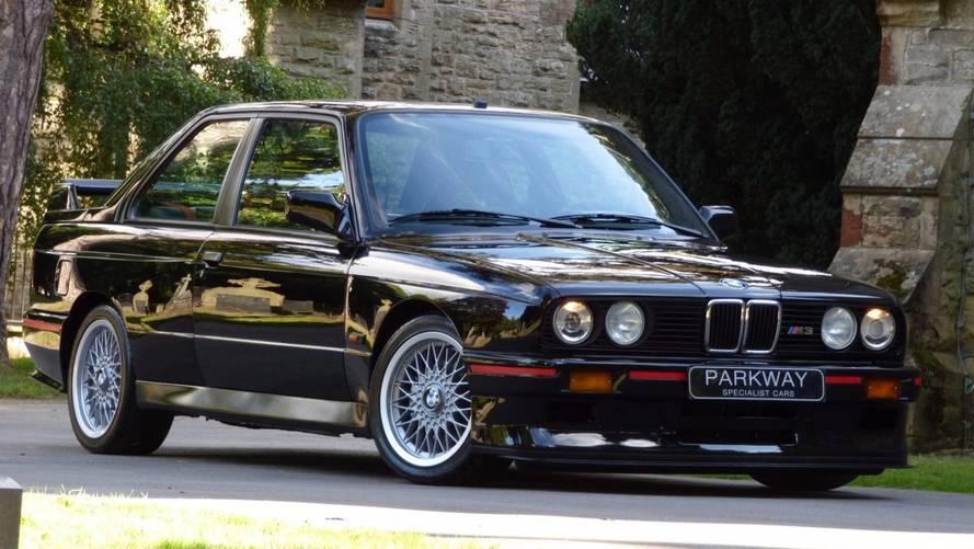 Cette BMW M3 E30 Sport Evolution III est grandiose