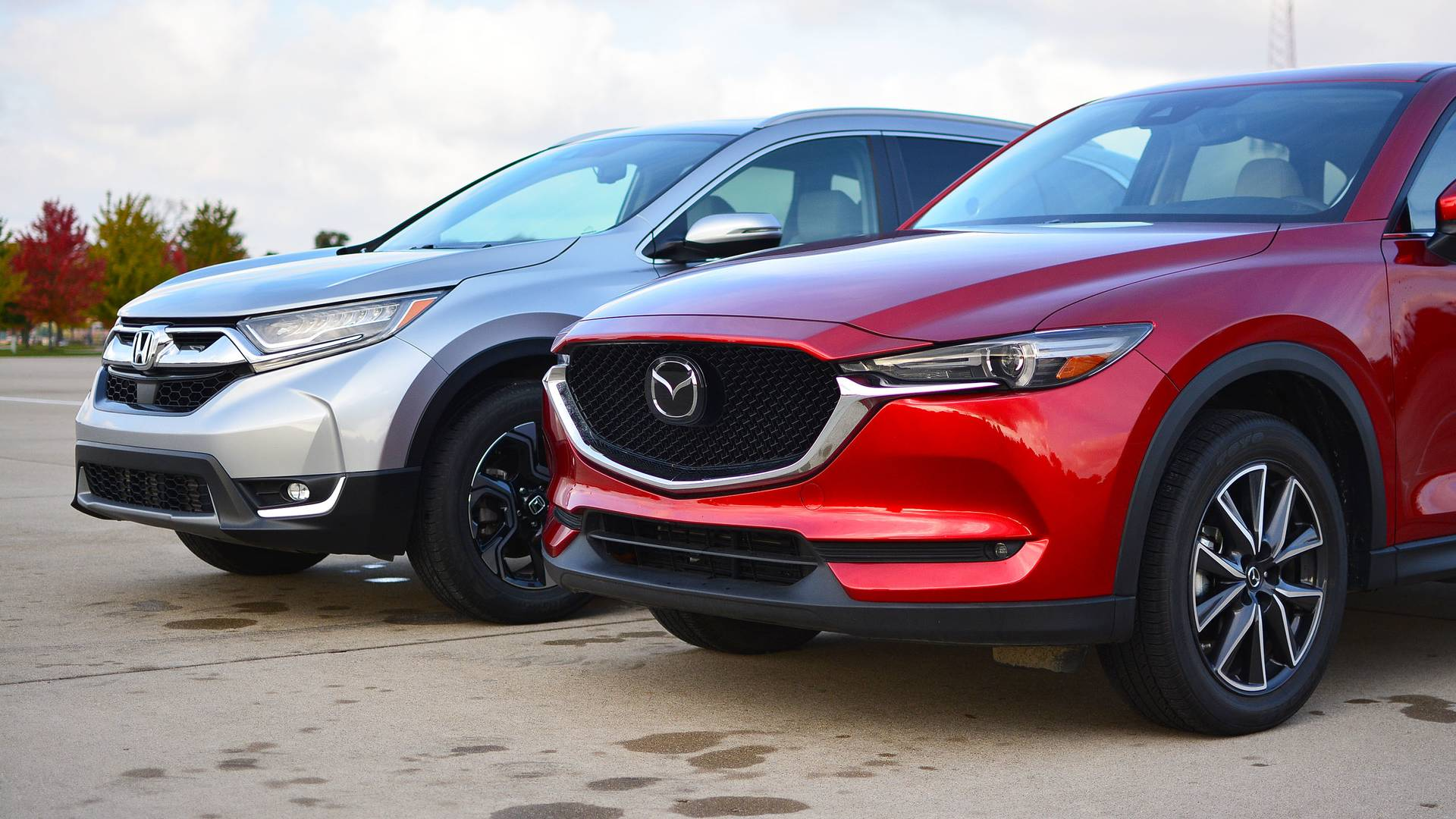 Honda CR V Vs Mazda CX 5 The Head And Heart Of SUVs