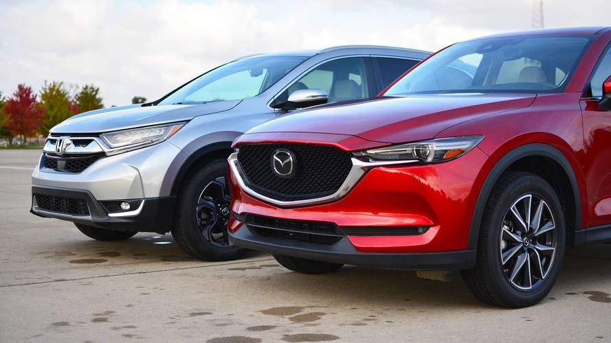 2017 Honda CR-V vs. 2017 Mazda CX-5