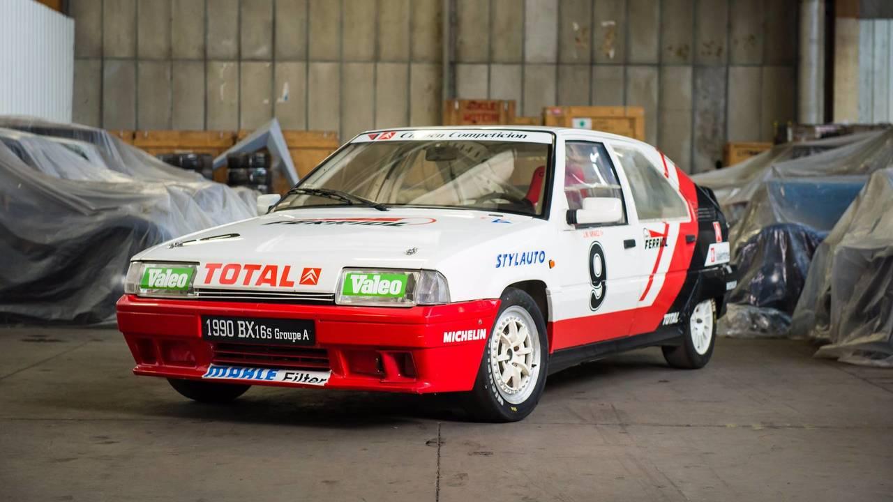 1990 Citroën BX GTI Course Production Espagne
