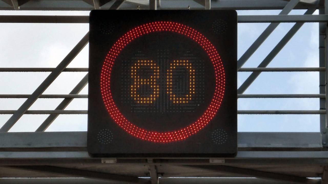 Limite de vitesse 80 km/h