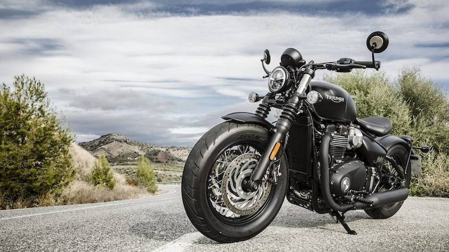 2018 Triumph Bonneville Bobber Black: First Ride