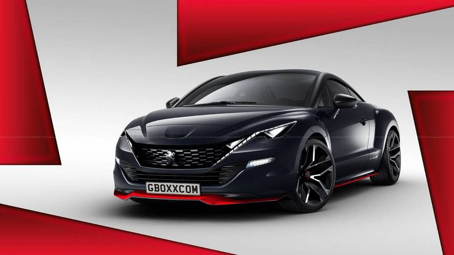 Second-generation Peugeot RCZ render