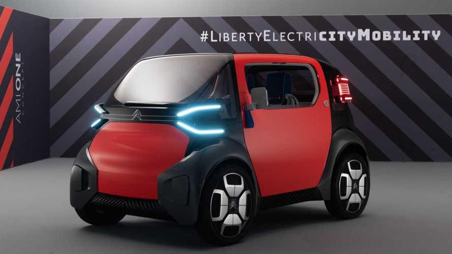 Citroen Ami One Concept, il car sharing per i 14enni