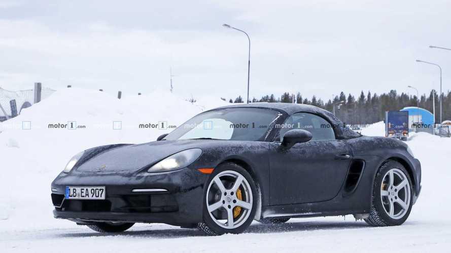 Porsche 718 Boxster, sei cilindri in vista