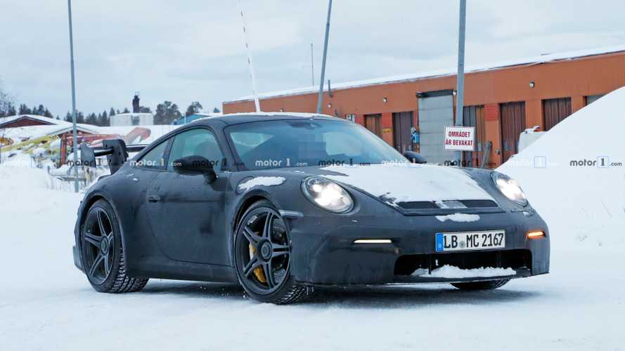 2020 Porsche 911 GT3 Spied As The Ultimate Snowmobile