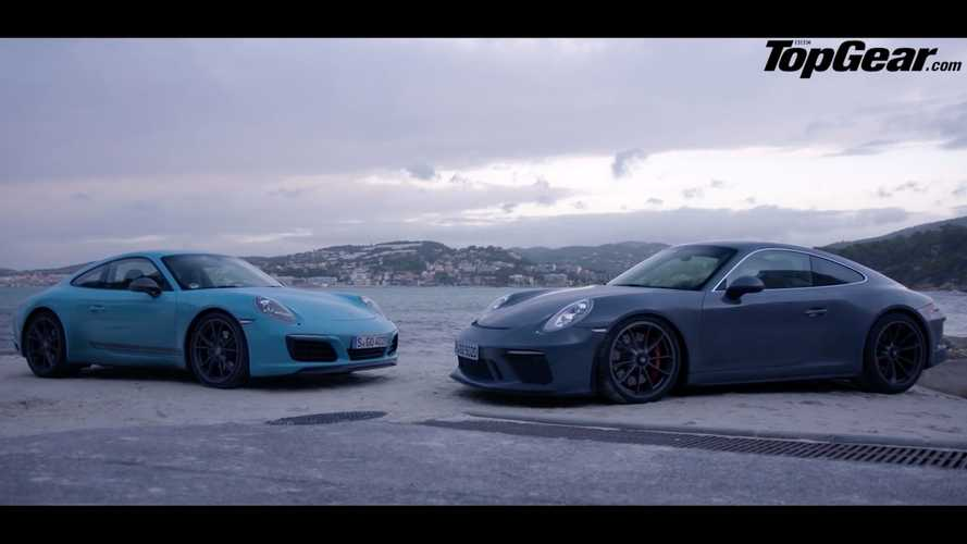 Porsche 911 GT3 Touring vs. Carrera T comparison