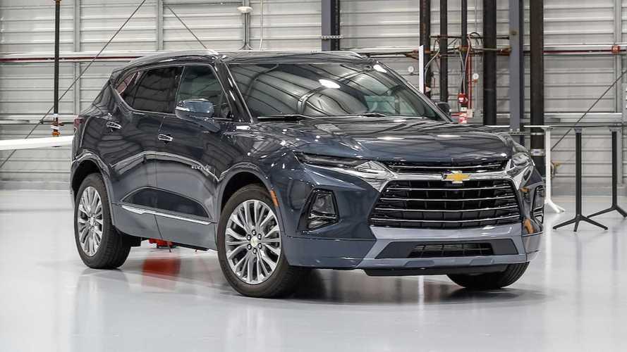 """""""SUV do Camaro"""", novo Chevrolet Blazer é registrado no Brasil"""