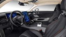 Çin Üretimi Qiantu K50 Elektrikli Süper Otomobili