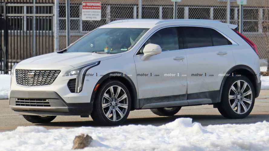 Cadillac XT4 Spy Shots Reveal Possible Diesel Engine Development