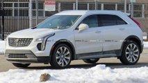 Cadillac XT4 Diesel Spy Shots