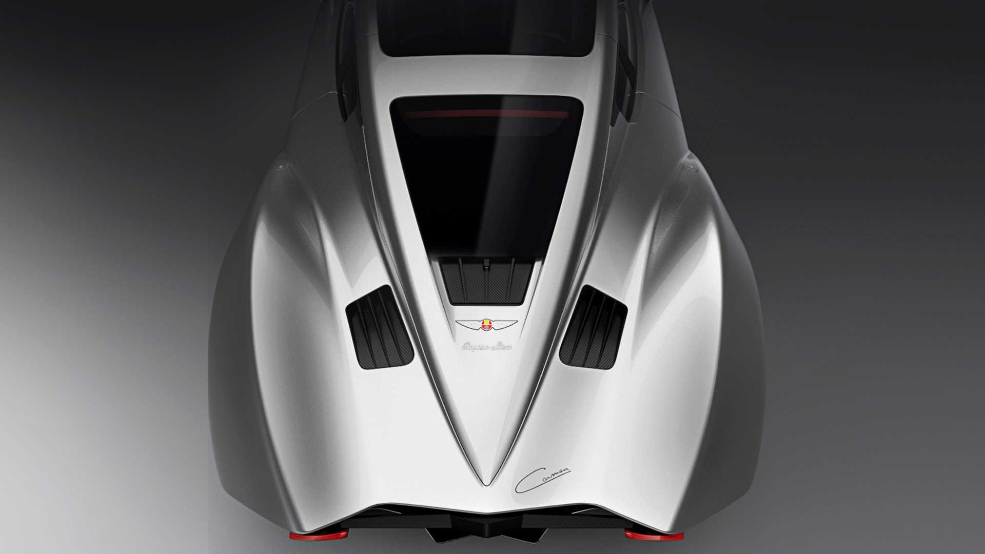 2x Chrome OEM Corvette Stingray Mako Shark Fender Emblem C7 Silverado Gm RTH  FU