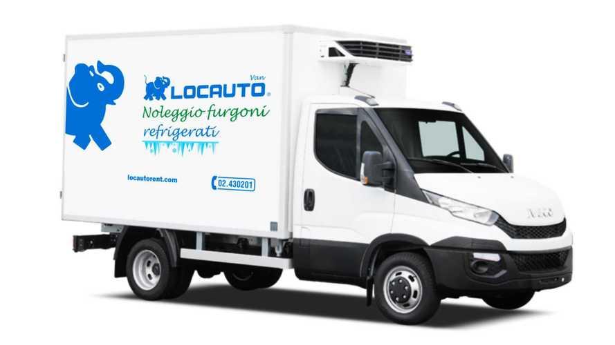 Noleggio furgoni da Locauto tre nuovi van frigo