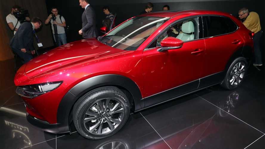Mazda CX-30 at the 2019 Geneva Motor Show