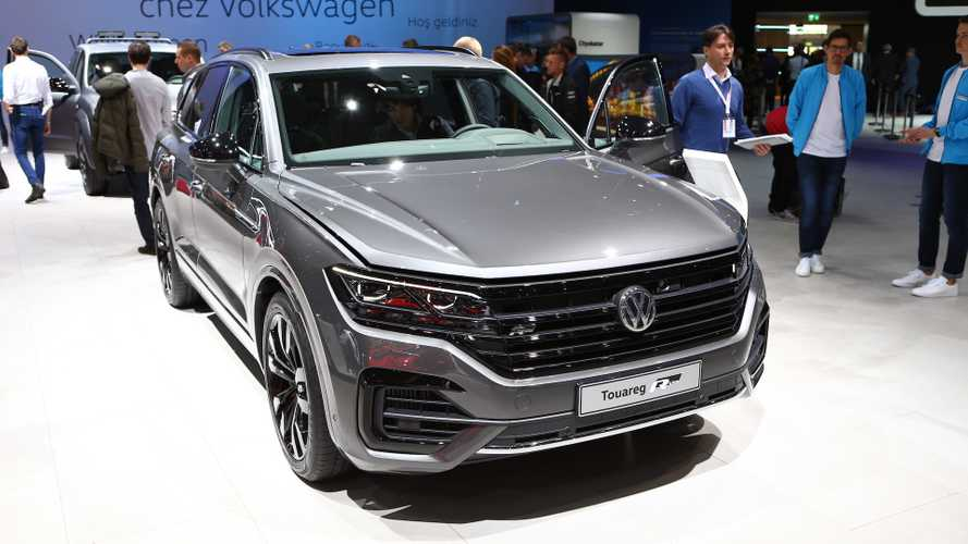 VW Touareg V8 TDI at the 2019 Geneva Motor Show