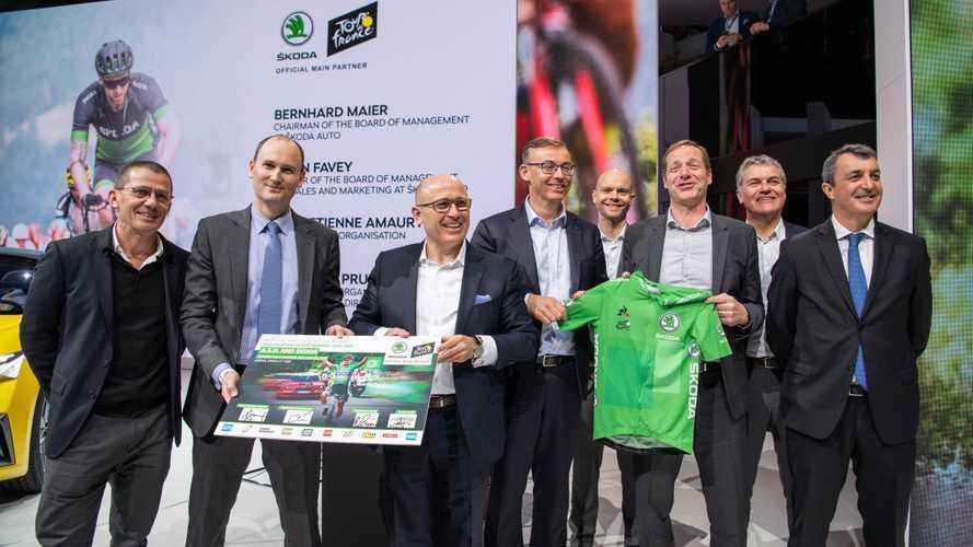 Skoda amplía su vinculación con A.S.O. y el ciclismo hasta 2023