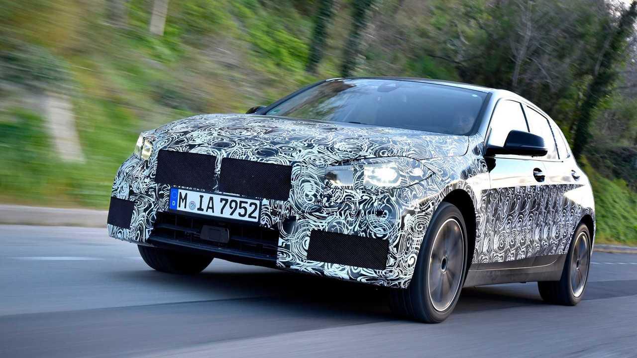 BMW 1er (2019) Erprobungsfahrt