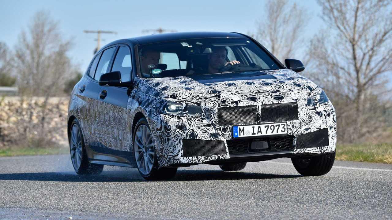 2020 BMW 1 Series testing in Miramas