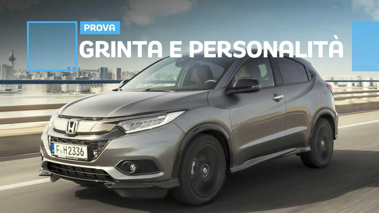 Copertina Honda HR-V Sport: il SUV compatto tira fuori le unghie