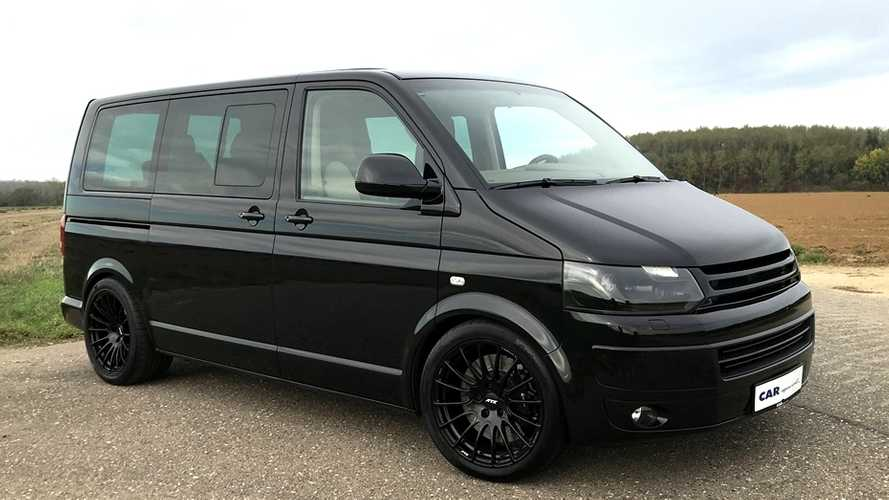 Porsche 911 Turbo-Powered VW Minivan Makes Parenting Pleasurable