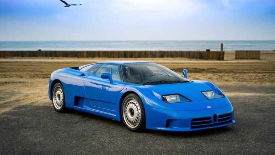 Pályán a legendás Bugatti EB110 - videó