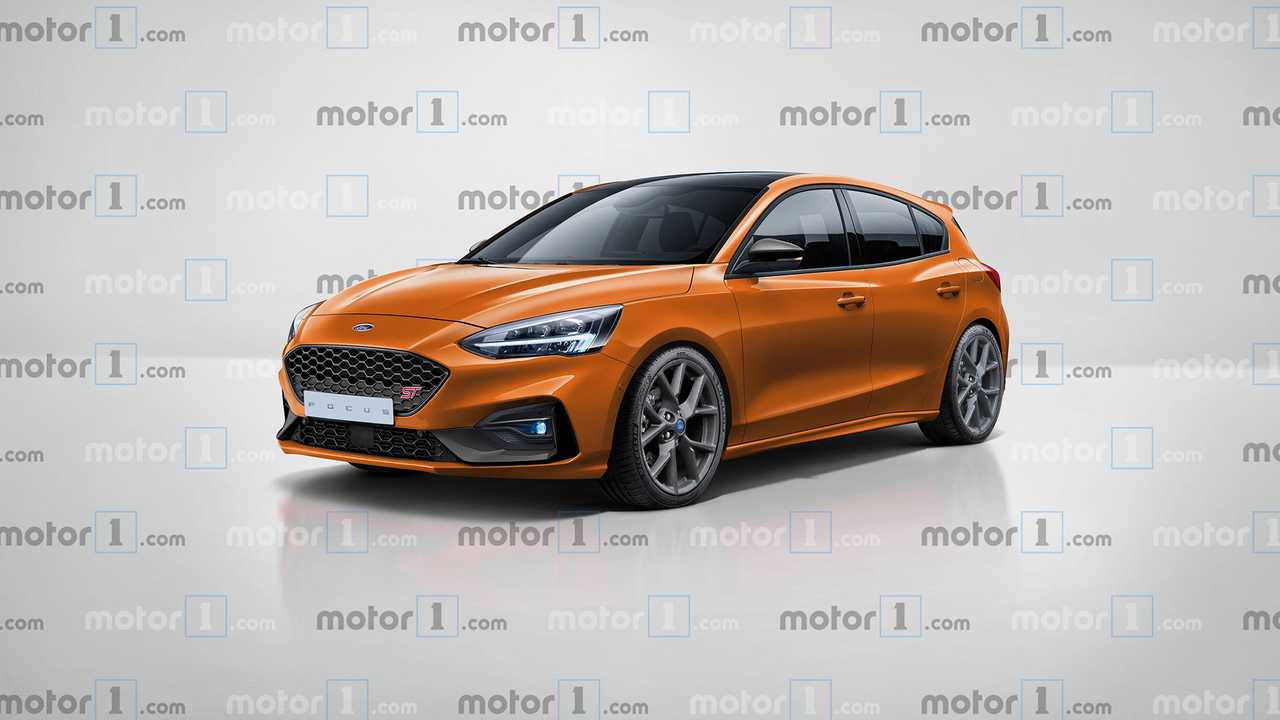 Illustration Ford Focus ST