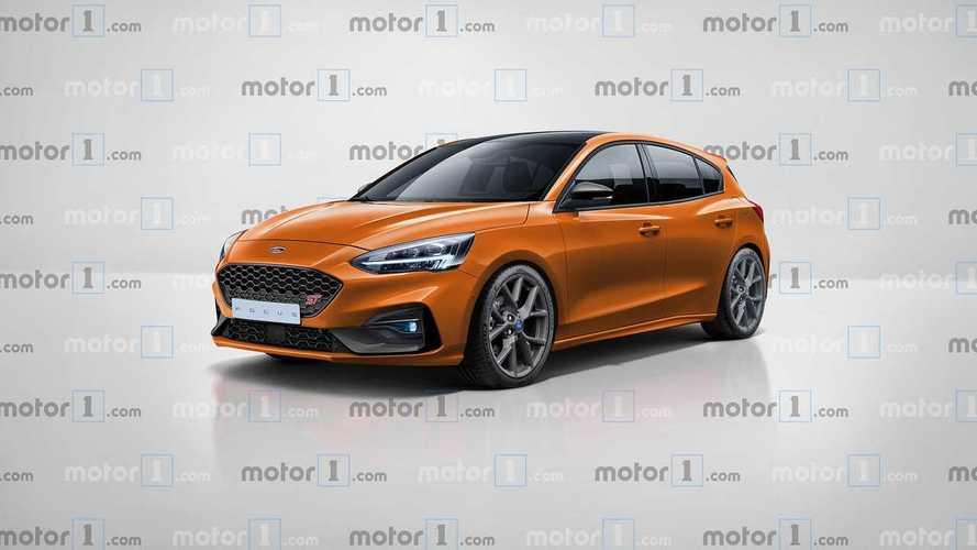 2019 Ford Focus ST dijital dünyada hayal edildi