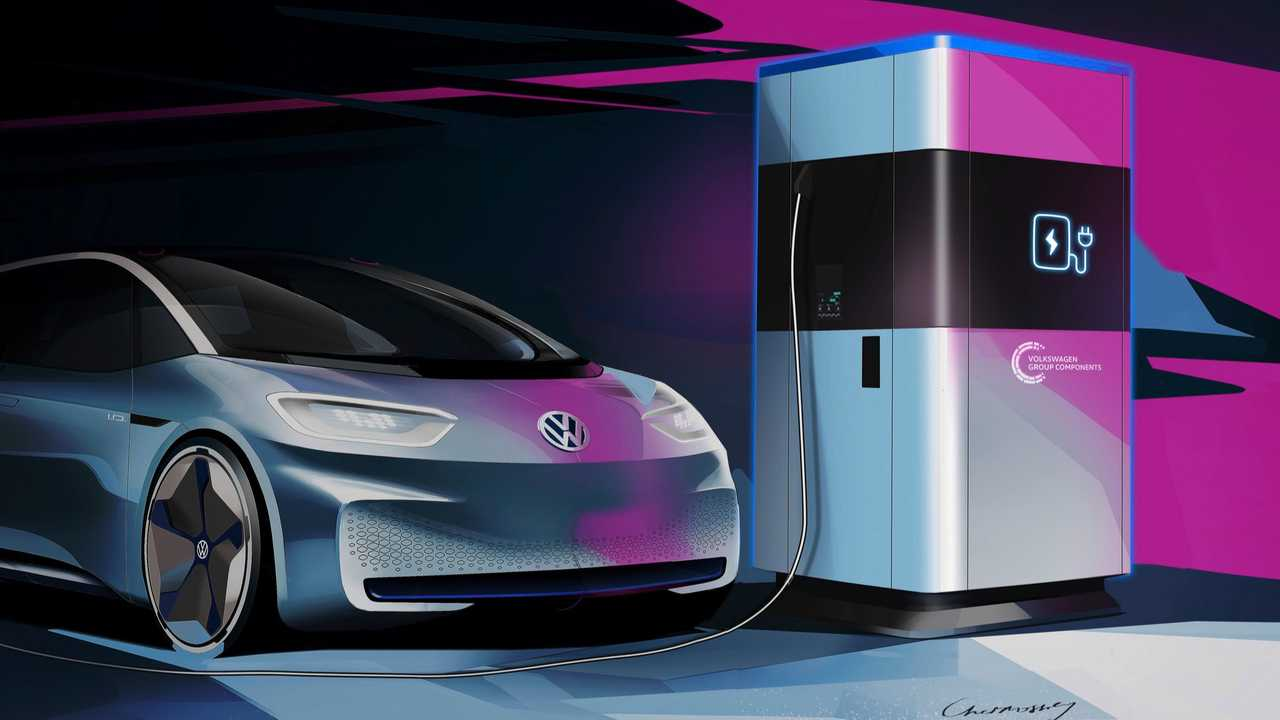 volkswagen powerbank electric car