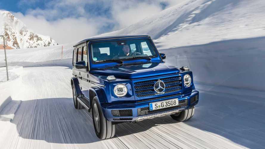 Mercedes G 350 d: Offroader bald wieder mit Diesel