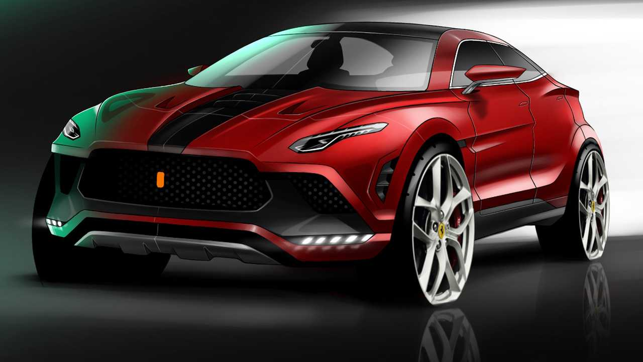 Ferrari SUV Fan Rendering