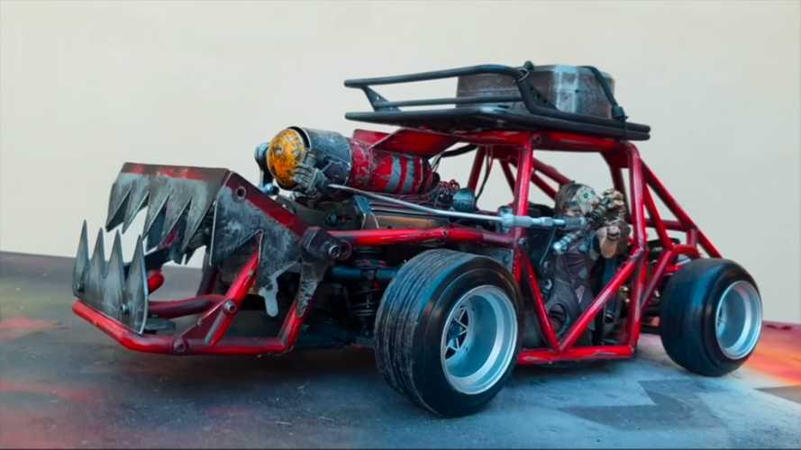 Killer Post-Apocalyptic RC Car Drifts Like There's No Tomorrow