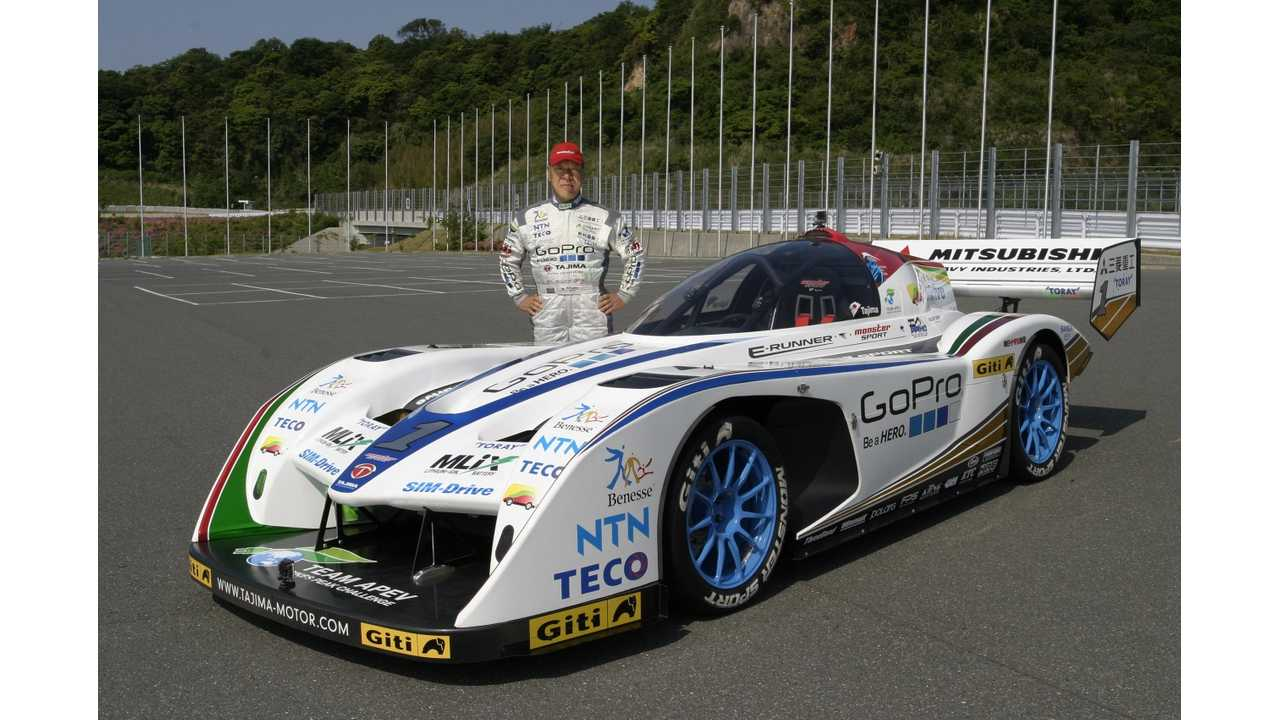 Team APEV Presents Monster Tajima's 2013 Monster Sport E-RUNNER Pikes Peak Special (w/video)