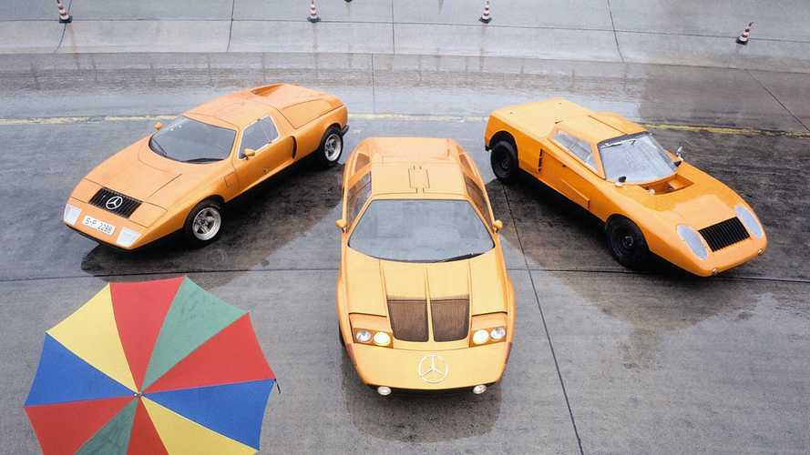Mercedes-Benz Celebrates 50 Years Of The C 111 At Techno Classica