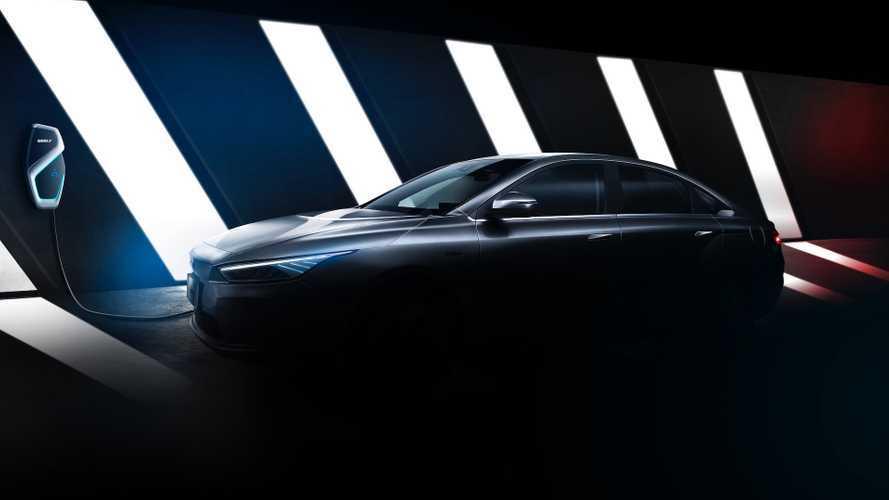 Geely, yeni elektrikli sedanının teaser'ını yayınladı