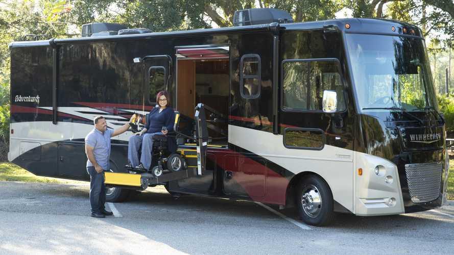Humans Being Bros: Winnebago Introduces Wheelchair-Friendly RVs