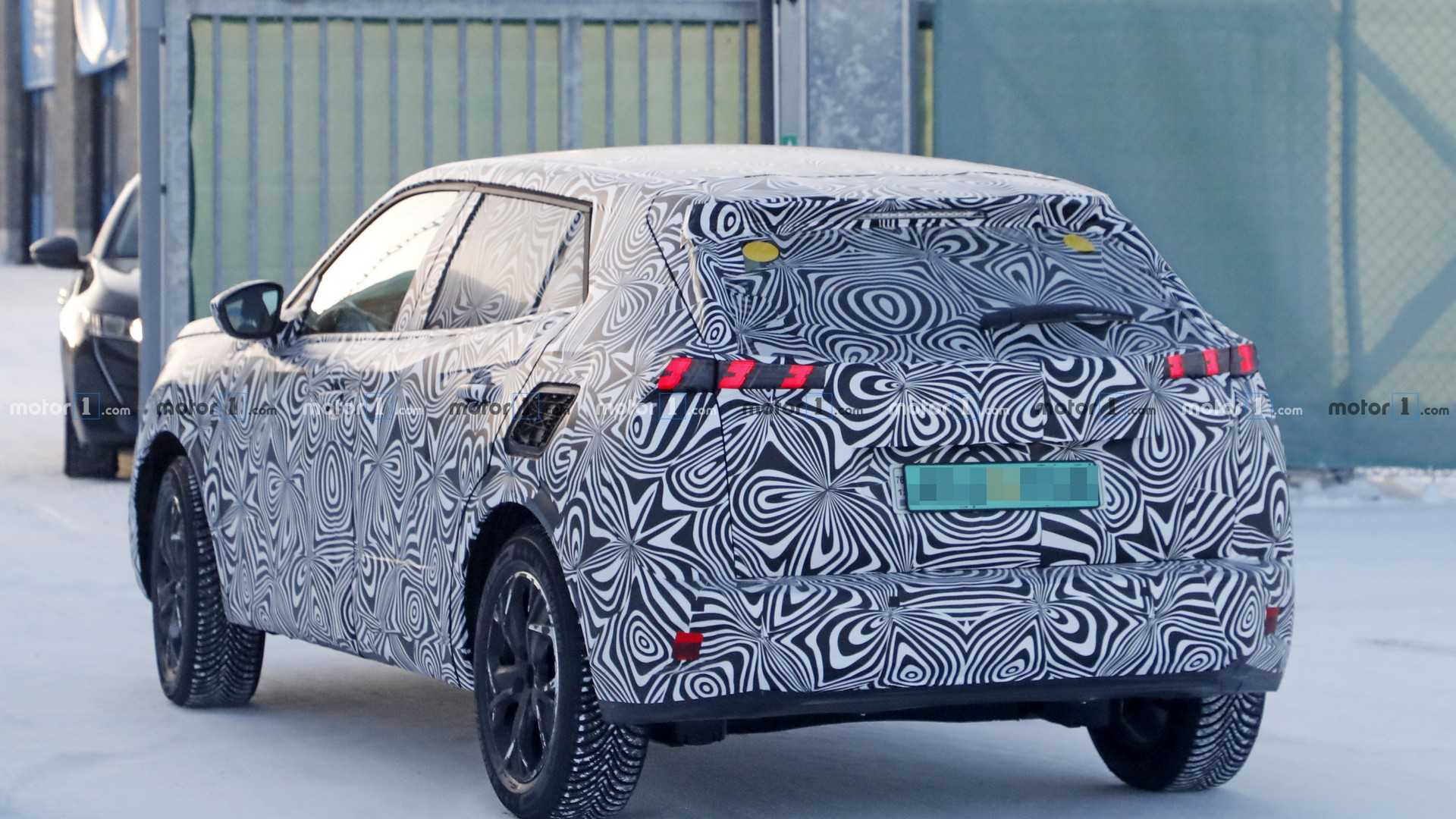 Is This A Prototype Of Peugeot S New 2008 Crossover
