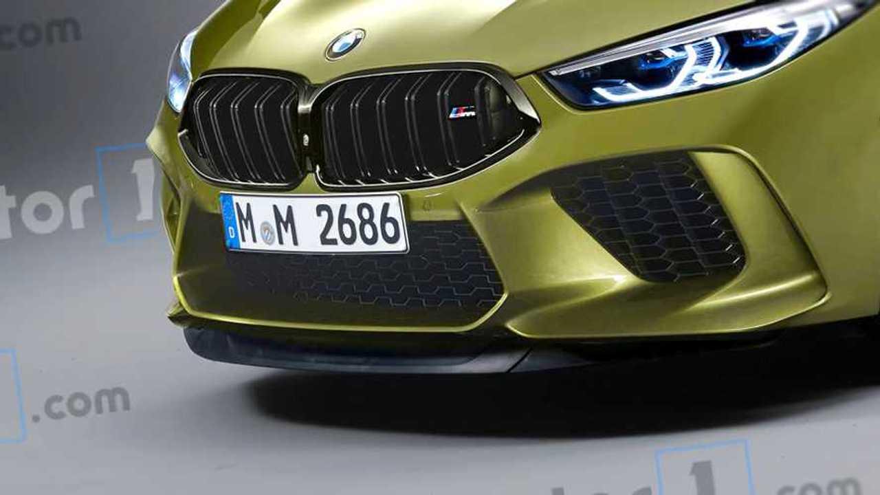 Render BMW M8 Coupé 2019
