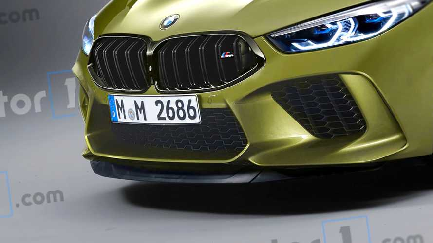 Render BMW M8 Coupé 2019