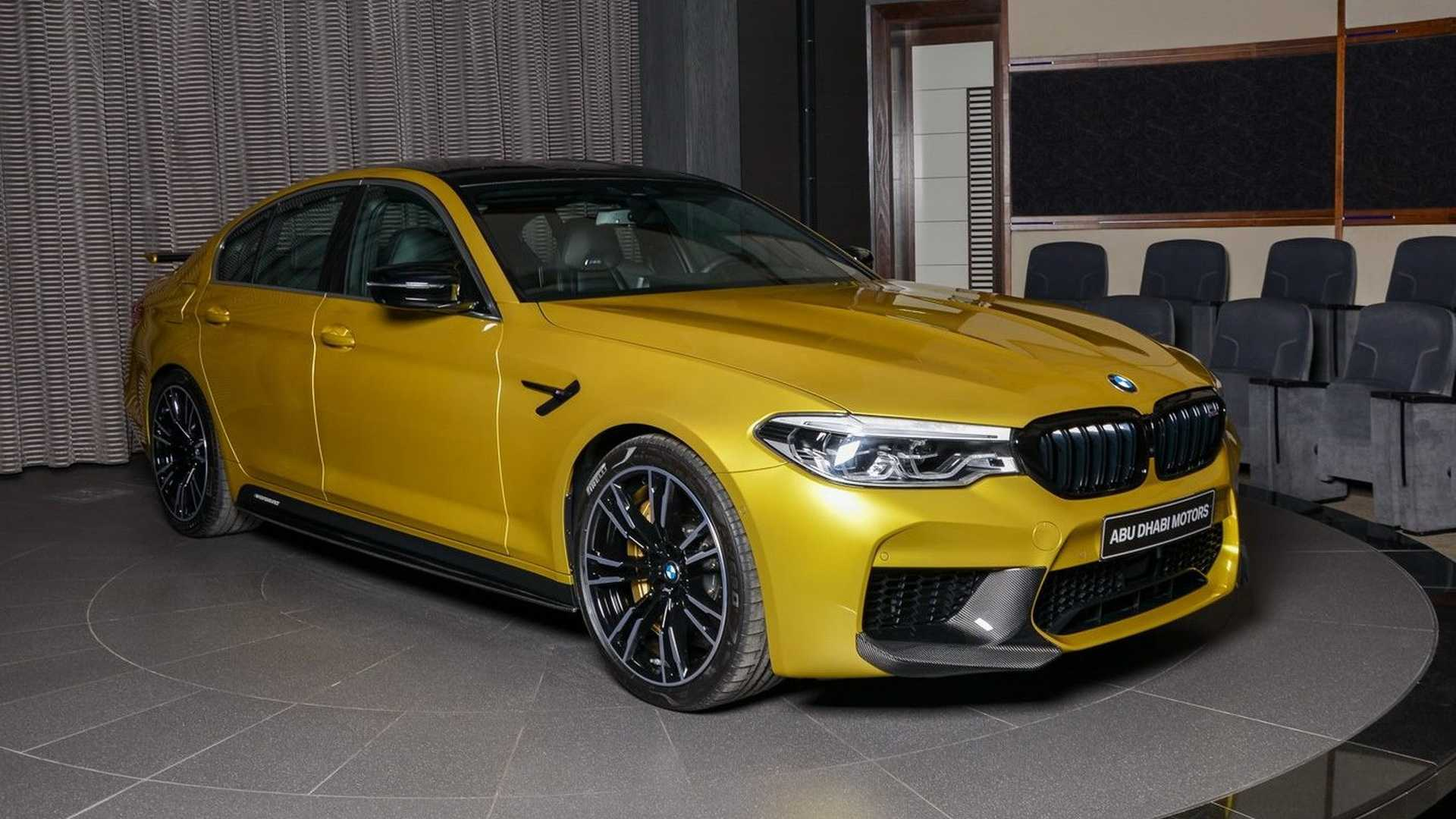 Bmw M5 Competition Austin Yellow Is As Flashy As A Supercar