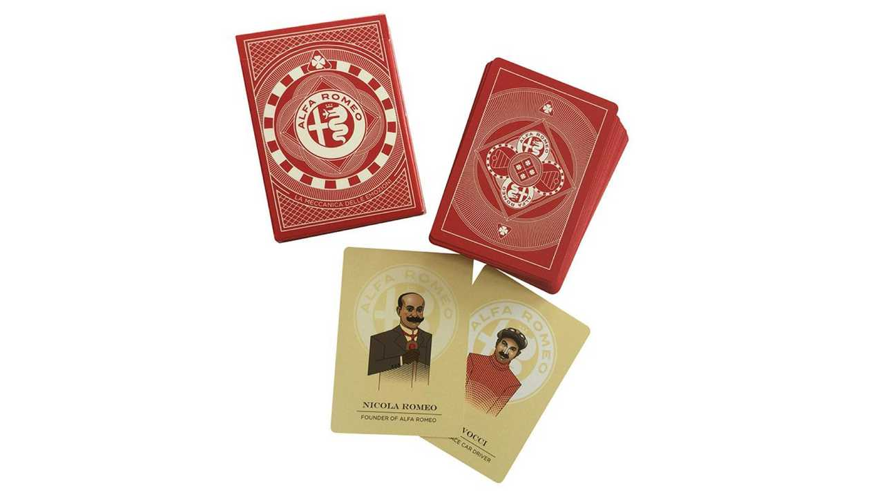 Alfa Romeo Playing Cards