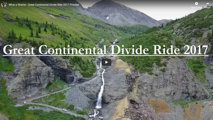 Dirt-Biking the Continental Divide